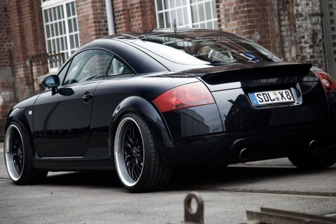 Chiptuning Audi TT 1.8 Turbo, 2002