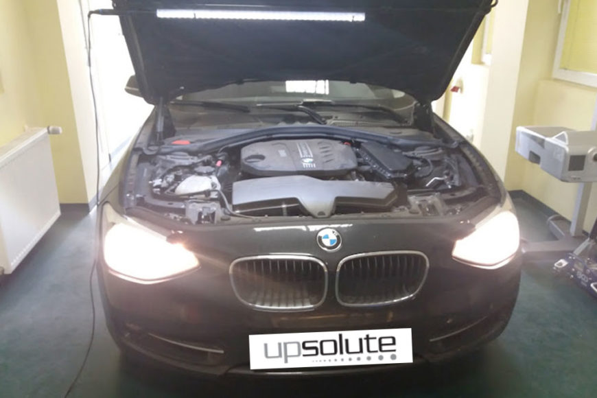 CHIPTUNING – BMW 116D, 116CP (1.6) 2014
